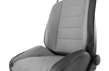 Μπροστινό κάθισμα Off Road Black  -Gray