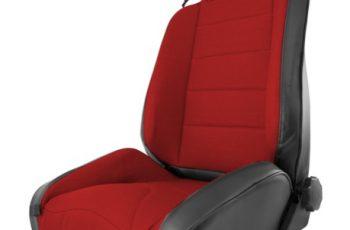 Μπροστινό κάθισμα Off Road Black -Red