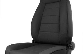 Μπροστινό κάθισμα αναδιπλούμενo Black Denim- Reclining
