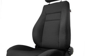 Μπροστινό κάθισμα ρυθμιζόμενο  Black - Ultra