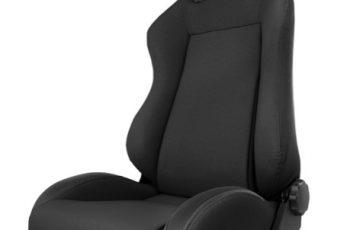 Μπροστινό κάθισμα ρυθμιζόμενο Black Denim -Sierra
