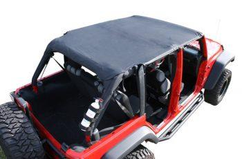 Roll Bar Top Diamond Black Wrangler 4d 07-08 (safari)
