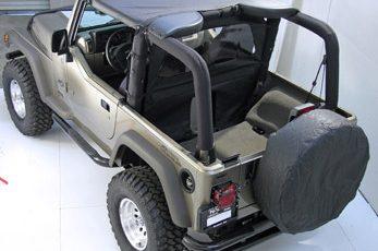 Καλοκαιρινή οροφή γκρί για Wrangler  92-95  (Bikini)