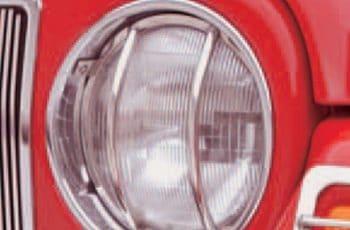 Προστατευτικά Φαναριών χρωμίου Wrangler  97-06   (ζευγάρι)