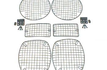Κίτ προστασίας φαναριών μαύρο σετ 6 τεμ.Wrangler  97-06