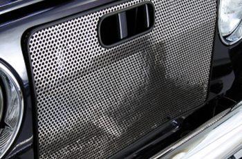 Κάλυμα ψυγείου χρωμίου για έντομα Wrangler  97-06