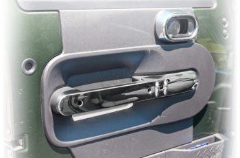 Front Door Handle Trim Chrome.Rugged Ridge