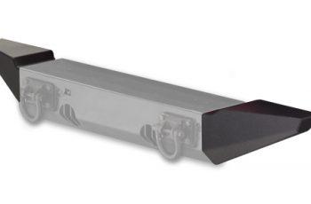 Ακρα προφυλακτήρα Rugged Ridge Wrangler JK μαύρα για XHD (ζευγάρι)