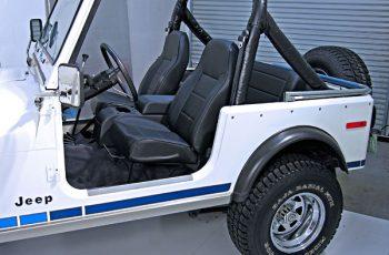 Κάθισμα Εργοστασιακού στυλ Black Denim  CJ -Wrangler 76-02