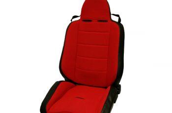Αγωνιστικό ανακλινόμενο κάθισμα Wrangler / CJ  76-02 κόκκινο /μαύρο