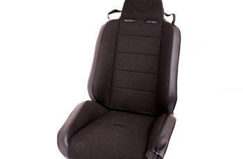 Αγωνιστικό ανακλινόμενο κάθισμα Wrangler / CJ  76-02 μαύρο/μαύρο