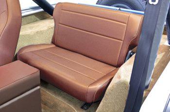 Αναδιπλούμενα πίσω καθίσματα μπεζ Wrangler / CJ 86-95