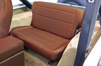 Αναδιπλούμενα πίσω καθίσματα μπεζ σκούρο Wrangler / CJ 86-95