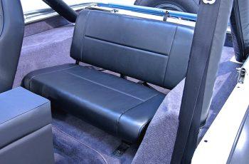 Σταθερά πίσω καθίσματα μαύρα Wrangler / CJ 55-95