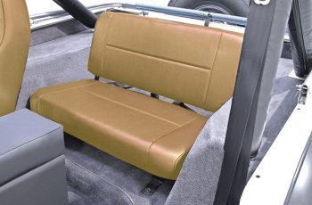 Σταθερά πίσω καθίσματα μπεζ Wrangler / CJ 55-95