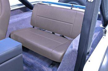 Σταθερά πίσω καθίσματα γκρί Wrangler / CJ 55-95