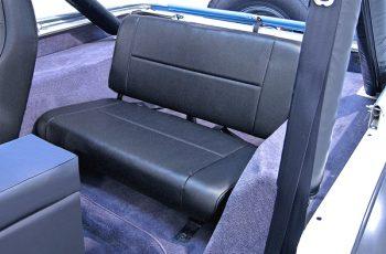 Σταθερά πίσω καθίσματα Black Denim Wrangler / CJ 55-95