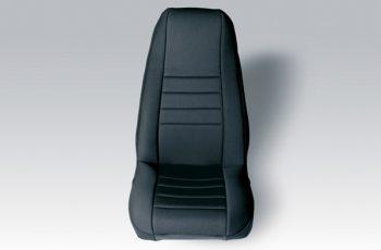 Καλύματα Neopren καθισμάτων εμπρός μαύρο/ μαύρο  Wrangler 91-95  (ζευγάρι)