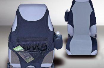 Προστατευτικό καθισμάτων μαύρο/γκρί Neoprene 76-06