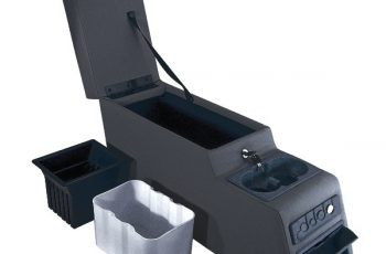 Ultimate Locking Console black Wrangler /CJ 76-95