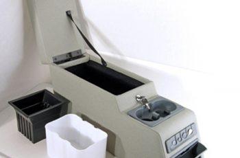 Ultimate Locking Console grey Wrangler /CJ 76-95