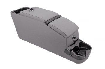 Rugged Ridge Locking Console grey Wrangler 76-95