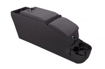 Rugged Ridge Locking Console Black Denim Wrangler 76-95