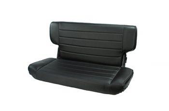 Αναδιπλούμενα πίσω καθίσματα Black Denim Wrangler 97-02