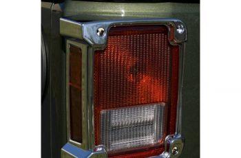 Προστατευτικά φαναριών χρωμίου  07-09 Wrangler JK