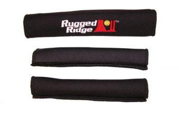 Καλύματα  χειρολαβών και πόρτας μαύρα  Wrangler  2d  97-06  3 τεμ.