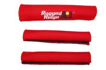 Καλύματα  χειρολαβών και πόρτας κόκκινα Wrangler 2d  97-06  3 τεμ.