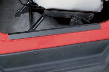Προστατευτικά Μαρσπιέ μαύρα  Wrangler 97-06 (ζευγάρι)