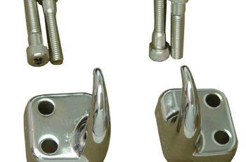 Γάντζοι ρυμούλκησης εμπρός χρωμίου Wrangler 97-06 (ζευγάρι)