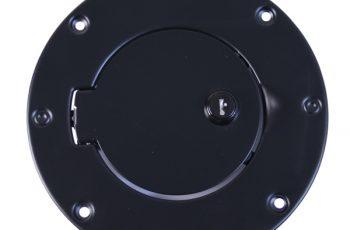 Κάλυμα για τάπα ρεζερβουάρ μαύρη με κλειδαριά Wrangler 97-06