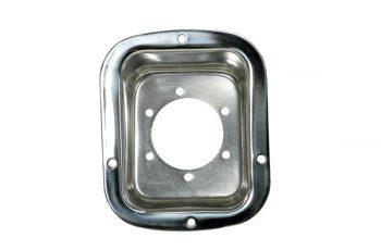 Θήκη για το στόμιο βενζίνης inox Wrangler/CJ  76-95
