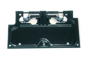 Βάση πινακίδας μαύρη Wrangler 87-95