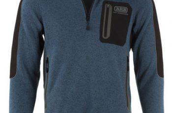 Alpine Fleece With Zipper Blue Medium