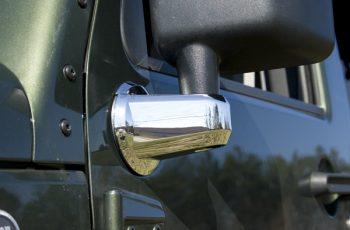 Καλύματα μπράτσων καθρεπτών χρωμίου (ζευγάρι) 07-09 Wrangler