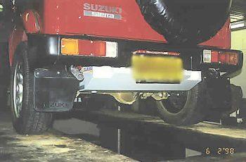 Suzuki Sierra SJ80 1996/2000 - Long Range TR48 Replacement Fuel Tank