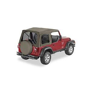 Soft Top για Wrangler TJ 03-06 . Για χρήση με μεταλλικές ολόκληρες πόρτες.