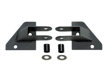 Στηρίγματα τοποθέτησης καθρεπτών μαύρα Wrangler 87/95 μισές πόρτες