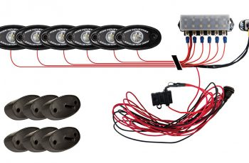 A-Series Rock Light Kit - 6 Lights (Cool White)