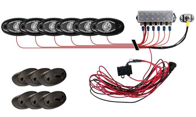 A-Series Rock Light Kit - 6 Lights (Cool White)