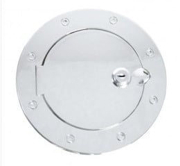 Locking Gas Cap Door