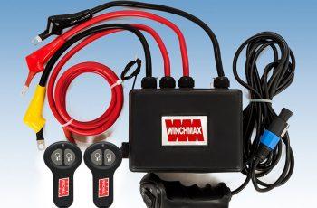 Control Box για εργάτη 13500lb 24V ασύρματο χειριστήριο και καλώδια