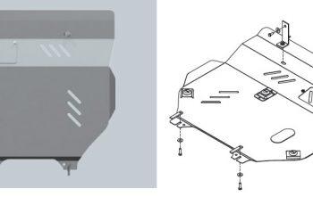 Ποδιά Κινητήρα & Σασμάν Cherokee Patriot Αλουμινίου