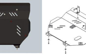 Ποδιά Κινητήρα & Σασμάν Compass μεταλλική