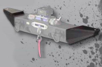 Ακρα προφυλακτήρα Rugged Ridge για Wrangler JK με αποθηκευτηκούς χώρους  07-10