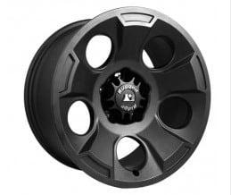 Drakon Wheel 17x9 μαύρη Satin για Wrangler JK 07-14