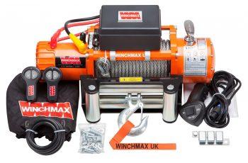Εργάτης Winchmax 13500lb με ασύρματο χειριστήριο 24V